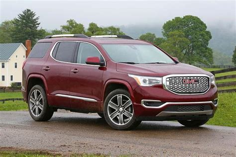 new gmc cars 2017 gmc acadia new car review autotrader