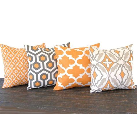 throw pillow covers etsy throw pillow covers 20 x 20 set of four pumkin by