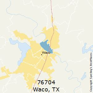 Waco Zip Code Map by Best Places To Live In Waco Zip 76704 Texas