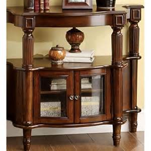 Glass Entryway Table Glass Table Console Antique Walnut Entryway Decor Furniture Walmart