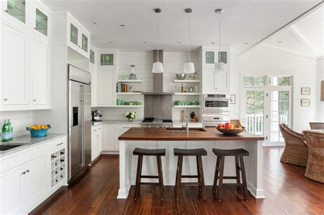 Islands For Kitchens Small Kitchens by Sullivans Island Beach House No 3 Beach Style Kitchen