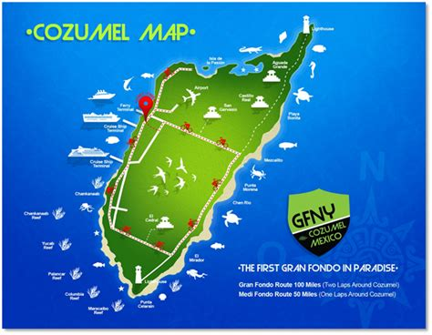 cozumel map printable map of cozumel pictures to pin on pinsdaddy