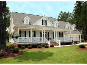 Farmhouse Plans With Porch by Southern Style House Plan 3 Beds 3 5 Baths 2568 Sq Ft