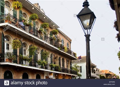 French Quarter Balconies And Gas Street L New Orleans Lights In New Orleans