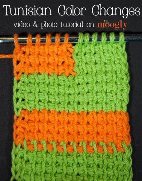pattern color change 17 best images about tunisian crochet on pinterest lion