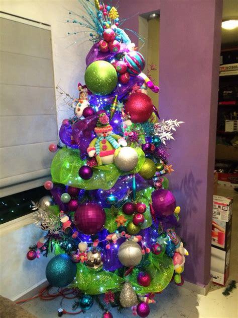 arboles de navidad vivos colores vivos alegres 193 rbol de navidad transformado en
