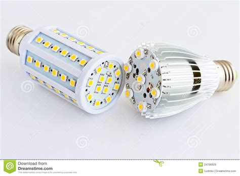 Compare Led Light Bulbs Led Light Bulbs Compare With Different Smd Chips Royalty Free Stock Images Image 24166929