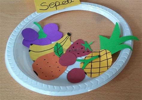 Paper Plate Craft Ideas For Preschool - fruits paper plate craft ideas for preschool