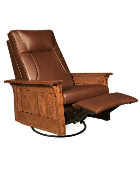 amish recliner chair mccoy rocker recliner swivel amish direct furniture