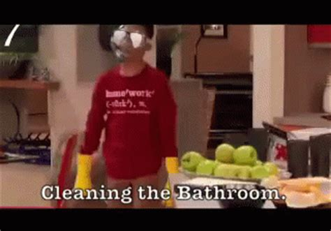 Bathroom Gifs Cleaning The Loo Gif Bathroom Cleaning Discover