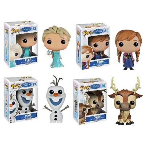 Promo Elsa Set 3in1 funko disney frozen pop vinyl set elsa olaf sven target