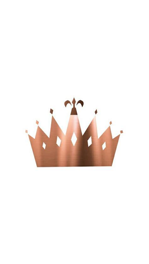 gold queen wallpaper rosegold crown spice up your bestie pinterest crown