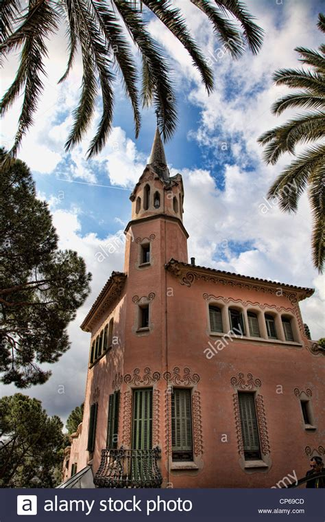 gaudi house museum the gaudi house museum park guell barcelona spain stock photo royalty free image