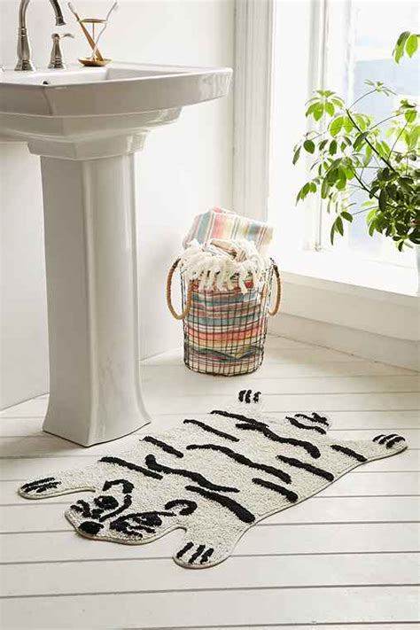 bathroom outfitters magical thinking tiger bath mat urban outfitters