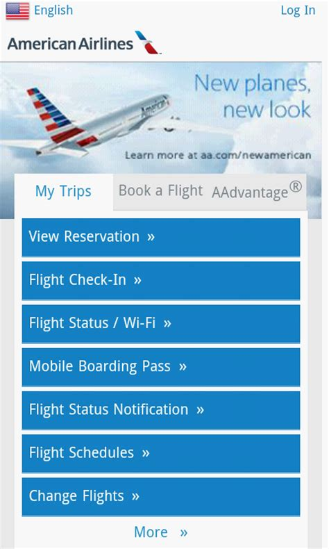 american airlines flight status mobile american airlines mobile free app android