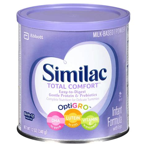 similac 1 total comfort abbott similac total comfort partially hydrolyzed protein