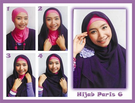 tutorial rambut graduation hijab tutorial paris 2013 simple trend model terbaru