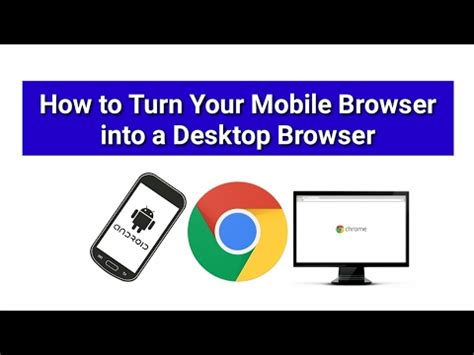 how to make chrome default browser on android how to make your chrome mobile browser into a desktop browser android tip