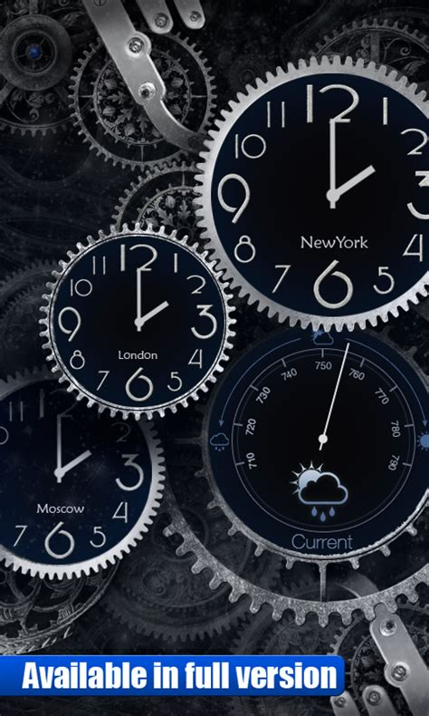 black clock livewallpaper android apps  google play
