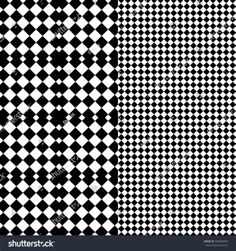 pattern of alternating black and white squares vector seamless pattern decorative background design stock