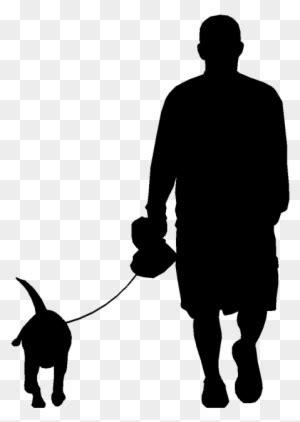 tattoos  dog silhouette tattoo man walking dog