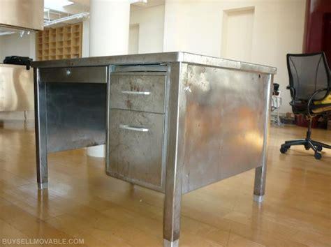 Vintage Metal Office Desk Vintage Metal Desk Office Pinterest