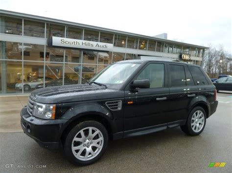 2007 Java Black Pearl Land Rover Range Rover Sport Hse
