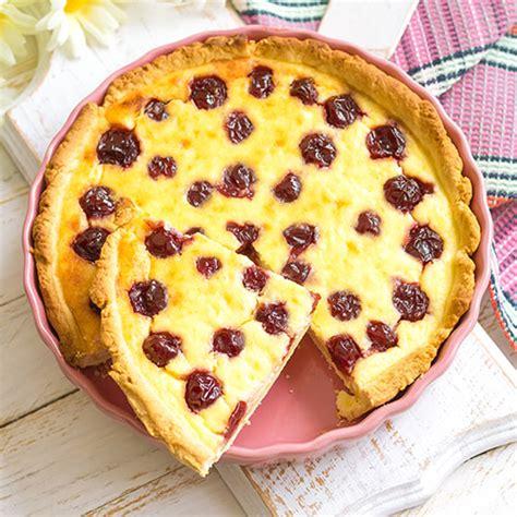 kirsch pudding kuchen kirsch pudding schmand kuchen klarstein magazin