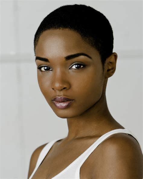 beautiful black women short hairstyle with sideburns gallery beautiful twa style black women s natural hair styles