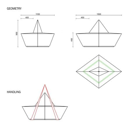 boat paper plans bench paperboat urbastyle