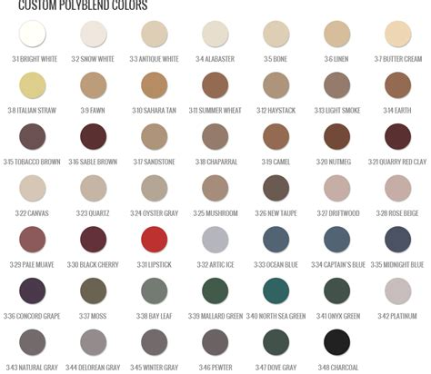 polyblend grout colors polyblend grout renew color chart search new