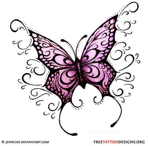 girly butterfly tattoo design photo 4 2017 real photo