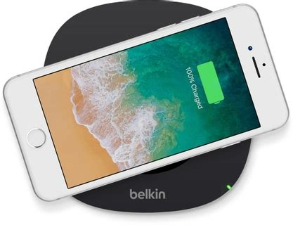 belkin qi wireless charging pad compatible  iphone