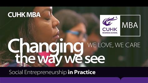 Mba Social Entrepreneurship Europe by Mba Moments Social Entrepreneurship In Practice