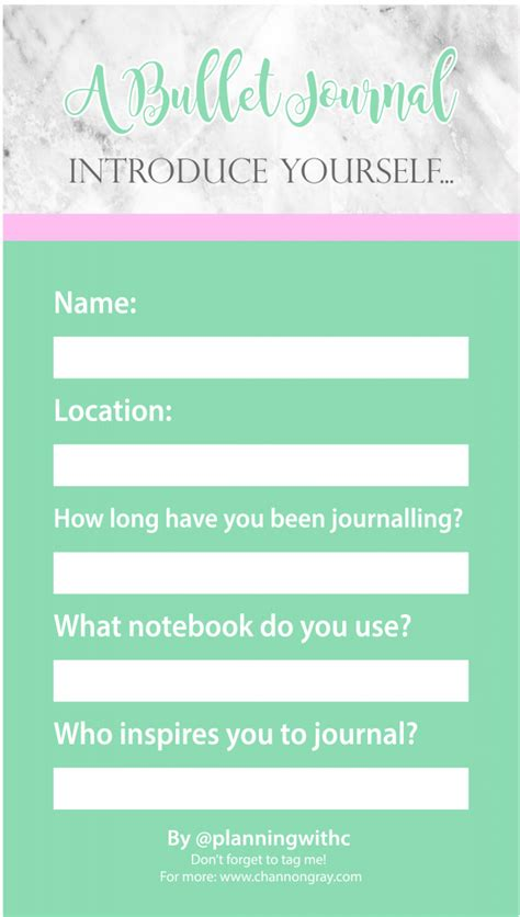 Bullet Journal Inspired Facebook And Instagram Story Templates Channon Gray Instagram Post Planner Template