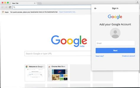 chrome sign in sign in at chrome browser