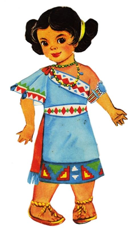 design doll india sharon s sunlit memories saalfield indian paper dolls 1367