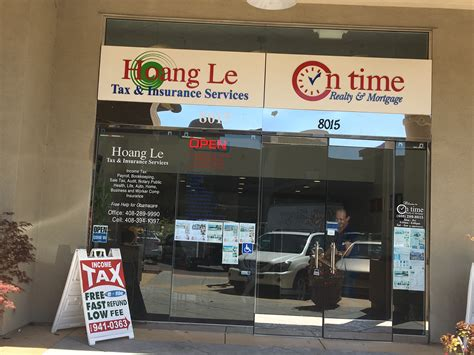 hoang le tax insurance services on time realty