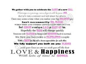 wedding shower poems for gifts cleaning products basket poem for bridal shower by