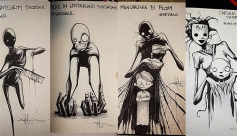 imagenes trastornos mentales los quot aterradores dibujos quot que retratan enfermedades