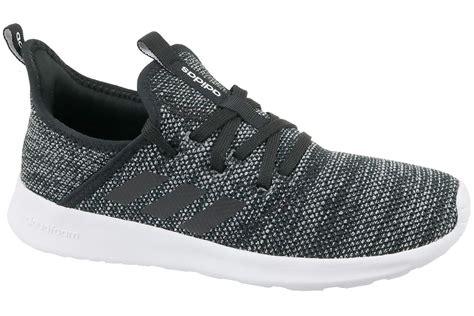 adidas black sneakers womens buy adidas cloudfoam db0694 womens black sneakers
