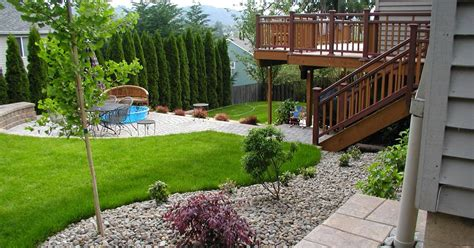 Small Sloped Backyard Ideas Sloped Backyard Landscaping Ideas