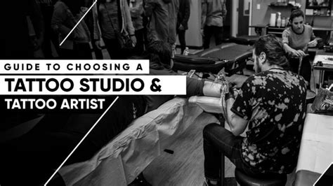 how to choose a tattoo artist guide to choosing a studio artist in 2018