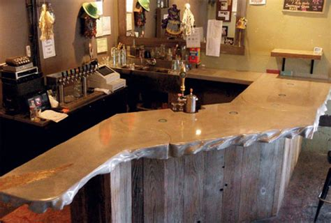 Bar Top by Concrete Bar Tops Www Imgkid The Image Kid Has It