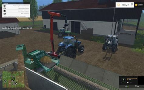 Ls Table Ls Loading Table For Wood Chipper V 1 0 Mp Ls2015
