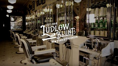 blunt salon creating an experience with hair edmonton ludlow blunt bespoke beauty salon care on behance