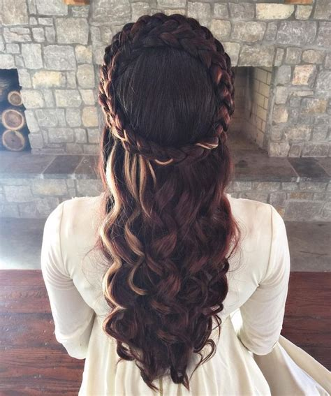 renaissance hairstyles images the 25 best ideas about medieval hairstyles on pinterest