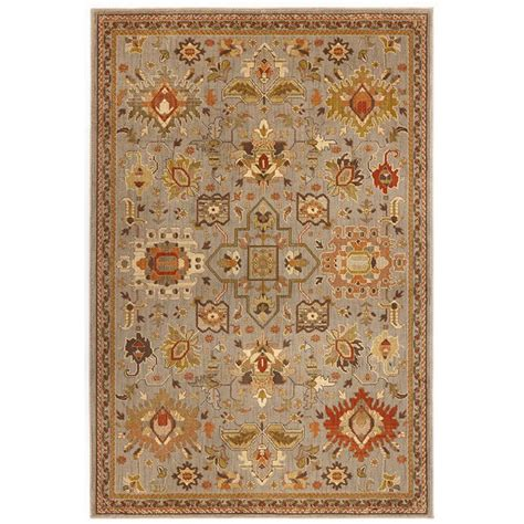 home decorator collection rugs home decorators collection grayson blue 5 ft 3 in x 7 ft 6 in area rug 6832d the home depot