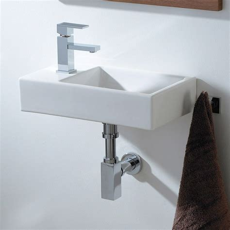 small basin small cloakroom basin ceramic wall hung basin