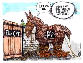 Backyard Bible Club by Flood Of Middle East Refugees In Eu Creates An Isis Et Al